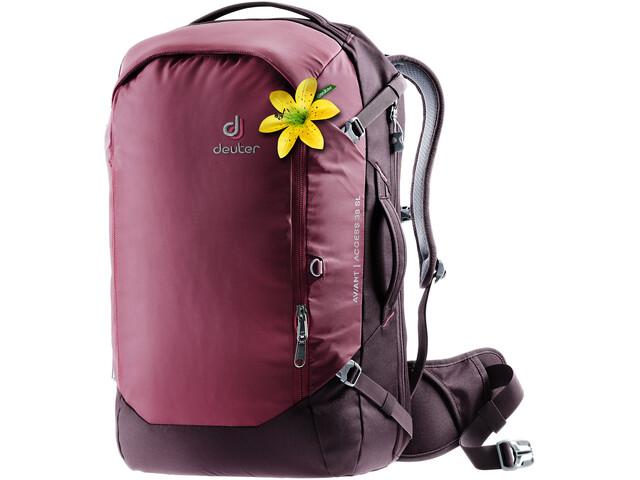 Deuter Aviant Access 38 SL Mochila de Viaje Mujer, maron/aubergine